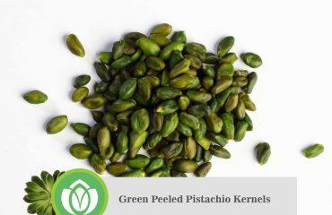 Green-Peeled Pistachio Kernels